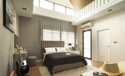 ตัวอย่าง ห้องใต้หลังคา บ้านเดี่ยว โฮมออฟฟิศ เดอะเชลเตอร์ แบบ Ace | The Shelter