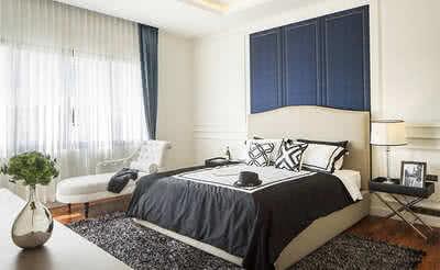 ห้องนอน บ้านเดี่ยวแบบ Ace ตัวอย่างสำหรับการแสดง | The Shelter