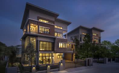 บ้านตัวอย่าง โครงการเดอะเชลเตอร์ โครงการอสังหาริมทรัพย์